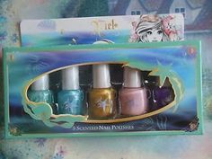 Elf Disney Ariel 5pc Scented Nail Polish Limited Edition New We Have More | eBay
