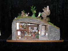 "Miniature ""Wind In the Willows"" inspired dollhouse - eifelminis.wordpress.com"