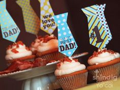 It's time to start thinking about Dads!  Here are some free Father's Day printables.