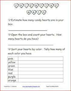 Valentine's Day Math!