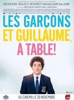 """Après la bande-annonce, l'affiche """"Les Garçons et Guillaume, à table !"""" - News films Vu sur le web - AlloCiné"""