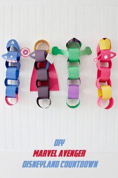 Marvel Avengers Disneyland Countdown - Eighteen25