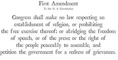 ` First Amendment to the ` United States Constitution ' Prohibits Making Any Law Abridging the ' Freedom of Speech ' The Freedom, Freedom Of Speech, Praying For Our Country, United States Constitution, Bill Of Rights, Political Science, Founding Fathers, Let Them Talk, Embedded Image Permalink