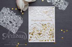 Hochzeitskarte zur goldene Hochzeit