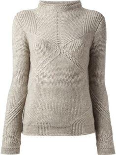 HELMUT LANG - Linear Transfer sweater 6
