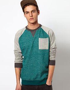 Bellfield Raglan Sweatshirt
