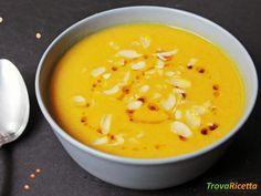 Vellutata di lenticchie e carote al curry #ricette #food #recipes