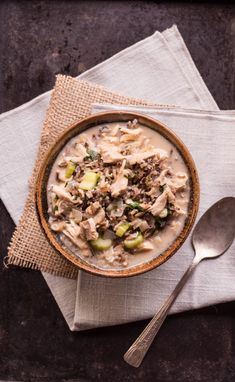 Mom's Minnesota Wild Rice Soup