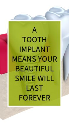 A Tooth Implant Means Your Beautiful Smile Will Last Forever Natural Remedies For Heartburn, Natural Teething Remedies, Natural Health Remedies, Herbal Remedies, Home Remedies, Health Guru, Health Goals, Health And Wellness, Health Resources