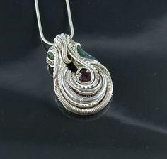©CD Davis #wirewrap #jewelry I can't believe this is my buddy's work! He's crazy talented.