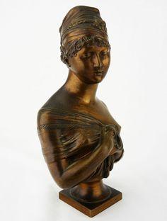 Joseph CHINARD(1756-1813)SCULPTURE BRONZE Skulptur scultura sochařství Napoléon