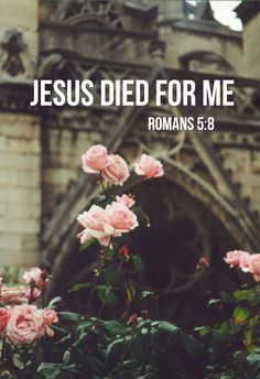 """worshipgifs: """" """"But God shows his love for us in that while we were still sinners, Christ died for us."""" - Romans 5:8 Christ died for me! Those four words alone make up a complete sermon. They tell the..."""