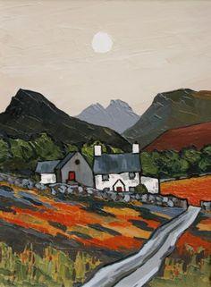 British Artist David BARNES-Capel Farm