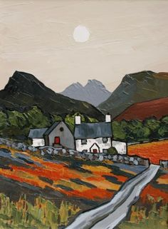 British Artist David BARNES - Capel Farm