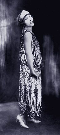 Josie Miles -- vaudeville and blues singer, famous for Mad Mama's Blues. Love the dress.