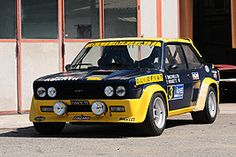 1977 Fiat 131 Abarth Group 4 Rally Car