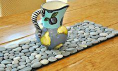 Sendero de piedras para decorar tu hogar