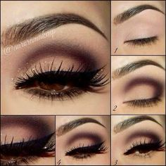 Eye Makeup Tutorial,Step By Step.