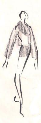 #fashionillustration #croquisdemode #mode #model #pencilsketch#OLDSKETCH#illustration #design #drawing #dessin