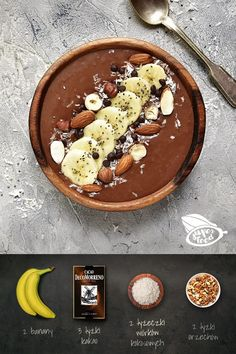 Food Design, Healthy Desserts, Dessert Recipes, Food Porn, Food Inspiration, Good Food, Food And Drink, Cooking Recipes, Smoothie Bowl