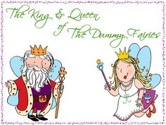 The King and Queen of The Dummy Fairies  www.thedummyfairyworkshop.com