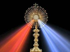 This HD wallpaper is about gold-colored cross decor with red and blue lights, eucharist, Original wallpaper dimensions is file size is Miséricorde Divine, Divine Mercy Sunday, St Faustina Kowalska, Divine Mercy Chaplet, Holy Thursday, Christ, Catholic Answers, Lady Of Fatima, Crosses Decor