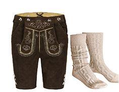 Lederhosen, Rock Revival, Sweatpants, Fashion, Little Girl Clothing, Dark Brown, Get Tan, Moda, Fashion Styles