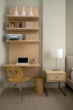 wall mounted desks for small spaces - Google Search