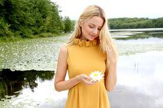 The Camilyn Beth 'Go Go' Dress in Mustard   FW16