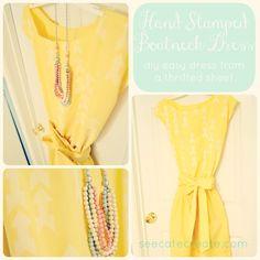 diy easy sew dress