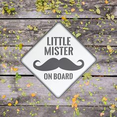 Custom Mister on board vinyl window decals are available for purchase at Boardman Printing