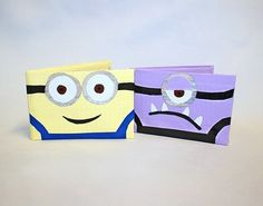 Minion Duck Brand Duct Tape Wallets You by DuctinamyteCreations Duct Tape Projects, Duck Tape Crafts, Tape Art, Creative Crafts, Fun Crafts, Projects For Kids, Craft Projects, Duct Tape Purses, Duck Tape Wallet