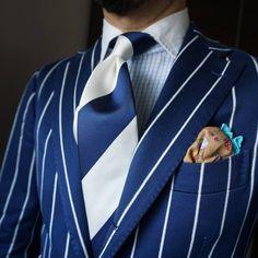 "maidoookini: ""Goooo morning My favorite boating Blazer "" Sharp Dressed Man, Well Dressed Men, Mens Fashion Suits, Mens Suits, Designer Suits For Men, Elegant Man, Gentleman Style, Dapper Gentleman, Dapper Men"
