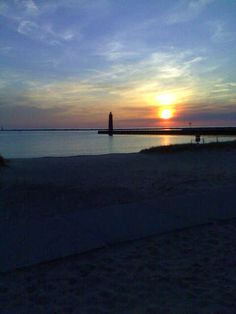 Peir Marquette, Muskegon Michigan Favorite place to be. So many memories.. ♥