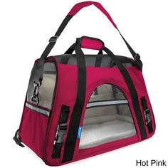 Oxgord Soft-Sided Cat/ Dog Comfort Travel Pet Carrier Bag (Small) | Overstock.com Shopping - The Best Deals on Cat Carriers