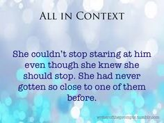 Context is everything. Each little tidbit could mean a hundred different things depending on what you do with it. Have fun!