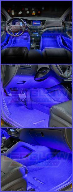 Blue LED Car Interior Underdash Lighting Kit. #affiliatevewh