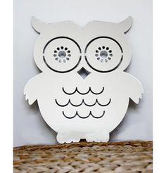 Adorning AL 'Owl' Wall Art - Mirror