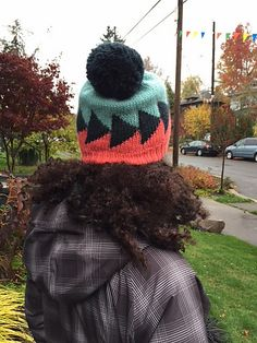 This hat has just the right amount of colorwork, and is a perfect opportunity to play with color. It's perfect for using up odds and ends of yarn.