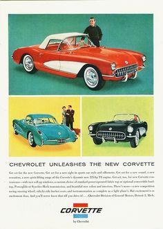 1956 Corvettes