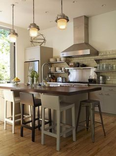 Vintage kitchen lighting