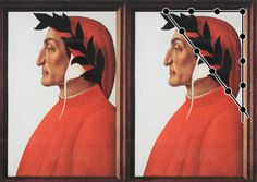 """Portrait of Dante Alighieri"" by Sandro Botticelli (1445-1510)"