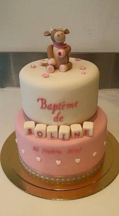 Baby girl pink cake design by Miss Audrey's Cupcake -  Soutenez-nous dans le développement en franchise de nos salons de thé vintages ! Support us to develop  our vintage tearooms !  Facebook : https://www.facebook.com/MissAudreysCupcakes/ Ulule : http://fr.ulule.com/audreys-cupcakes/  Merci :D ! Thank you :D !