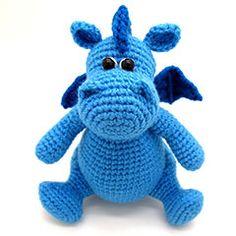 Grow, Baby dragon amigurumi crochet pattern by Masha Pogorielova (mashutkalu)