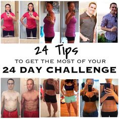 24 tips to get the most of your AdvoCare 24 Day Challenge via www.heylaurenrene.com