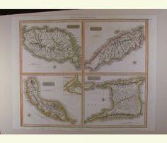 West India Islands 1821