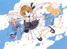 Cardcaptor Sakura | CLAMP | Madhouse / Kinomoto Sakura, Keroberos (Kero-chan), Daidouji Tomoyo, Kinomoto Touya, and Tsukishiro Yukito