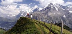 the self-guided eiger trail: gstaad to grindelwald, switzerland