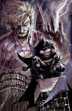 #BATMAN........ MAI SENTITO PARLARE DI #ARKHAM ASYLUM? Il capolavoro di Morrison…