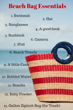 Beach Bag Essentials for A Perfect Sunset Beach Day